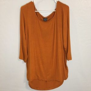 NWT Worthington Orange Blouse | 1X